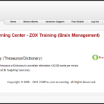 ZOX Pro Training Program