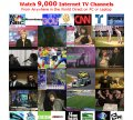 9000 Satellite TV Channels on PC or Laptop  TV for PC