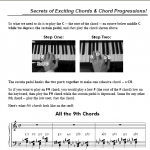 Power Piano Chords by Duane Shinn
